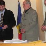 Nicolae Baba a primit Medalia de Onoare a oraşului Cugir, în semn de recunoştinţă pentru dăruire voluntară