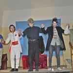 """Peste 200 de persoane au asistat la Vinerea la comedia """"Ursul"""", jucată de grupul Skepsis"""