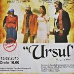 Teatru, poezie şi muzică la Căminul Cultural din Vinerea