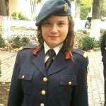 Elevă a Colegiului Militar din Alba Iulia, originară din Cugir, calificată la faza națională a Olimpiadei de psihologie