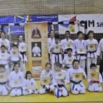 Nu mai puțin de 12 medalii obținute de karatiștii cugireni în la finala Campionatului Naţional de Karate Tradiţional – Fudokan pentru copii