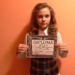 Bursă de performanţă pentru o elevă de nota 10