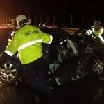 O persoană a fost rănită în urma unui accident rutier petrecut pe A1 la limita dintre județele Alba și Hunedoara