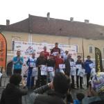 """Şase atleţi din Cugir pe podium la concursul naţional """"Alba Iulia City Race"""" 2015"""