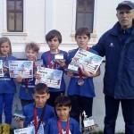 Cinci medalii pentru atleţii de la CSO Cugir la Campionatul Naţional la Cros