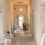 Lucrări avansate la Ambulatoriul Spitalului Orăşenesc Cugir