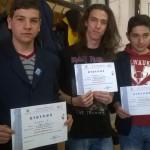 """Premiul II pentru un grup de elevi ai Colegiului """"I. D. Lăzărescu'' din Cugir la """"ELECTROTEHNIADA"""" de la Cluj Napoca"""