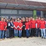 Elevi ai Colegiului I.D. Lăzărescu din Cugir au experimentat cum e să fii angajat la o companie de renume