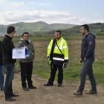Încep lucrările la viitoarea staţie de pompare care va permite punerea în funcţiune a canalizării din localitatea Vinerea