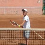 Tenismanului cugirean Lucian Codea își dorește ca în 2016 să devină nr. 1 în tenisul românesc, la categoria 10 ani