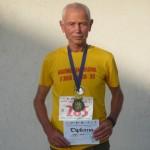 Atletul cugirean, Vasile Hârjoc s-a clasat pe locul I la semimaratonul de la Arad, categoria 60+
