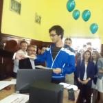 """13 elevi premiați la Concursul de matematică """"Prof. Ioan Mariş"""", desfășurat la Colegiul Naţional """"David Prodan"""" din Cugir"""