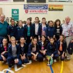 """Locul III la Turneul Internaţional """"Cupa Budvar"""", pentru handbalistele de la CSO Cugir"""