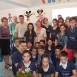 """La secția de Pediatrie a Spitalului orășenesc din Cugir a fost inaugurat Clubul IMPACT """"Zâmbiricii norocoşi"""""""