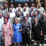 S-au revăzut în Cugir, după 47 de ani de la absolvirea Facultăţii de Mecanică din Cluj-Napoca