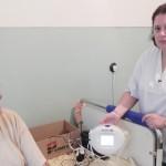 În premieră la Cugir: secţia Chirurgie a spitalului orăşenesc – dotată cu un aparat de terapie pentru plăgi dificile