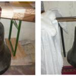 """Biserica """"Adormirea Maicii Domnului"""" din Cugir a primit ca donaţie două clopote noi"""