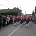 Parada portului popular la Festivalul Naţional de Dansuri şi Tradiţii Populare de la Vinerea – Cugir