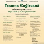 """În weekend are loc cea de-a XVIII-a ediție a festivalului """"Toamna Cugireană"""". Vezi programul"""