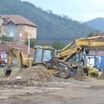 """Lucrări ample de modernizare în curs de realizare la Stadionul """"CSO"""" din Cugir"""
