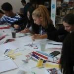"""Proiectului educaţional """"Luna internatională a bibliotecii"""" demarat în cadrul Colegiului Național """"David Prodan'' din Cugir"""