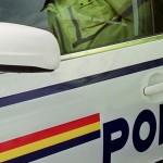 Tânăr de 19 ani din Cugir cercetat de polițiști după ce a furat un autoturism și a provocat un accident de circulație la Romoșel