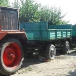 Tânăr de 23 de ani din Săliștea surprins de polițiști în timp ce coducea fără permis un tractor pe raza comunei