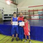 Echipa de box a CSO Cugir pe podiumul finalei Campionatului Național de Box destinat cadeților