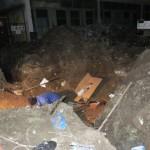 O parte din Cugir lăsată în beznă de un excavatorist neatent, după ce a distrus un cablu de înaltă tensiune