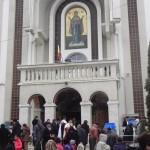 """Peste 400 de credincioși au participat la Slujba de Bobotează ținută la Biserica Ortodoxă """"Adormirea Maicii Domnului"""" din Cugir"""