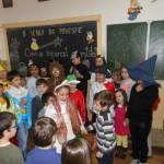 """La Școala Gimnazială """"Singidava"""" din Cugir au fost reluate activitățile din cadrul celui de-al doilea sezon al proiectului """"O seară de poveste"""""""