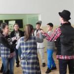 """Elevii Colegiului Național """"David Prodan"""" și ai Școlii Gimnaziale Nr. 3 din Cugir au sărbătorit """"Mica Unire"""""""