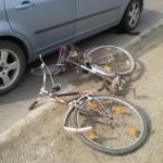 Biciclist de 77 de ani rănit la Orăștie pe fondul neacordării de prioritate