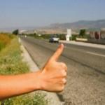 Conducător auto jefuit de un autostopist pe DN7