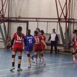 """CSO Cugir – """"Sfânta Maria"""" Timişoara 21-18 (10-9), în campionatul național de handbal rezervat junioarelor III"""