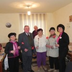 Consultanții de nutriție sănătoasă oferite gratuit membrelor Casei de Ajutor Reciproc a Pensionarilor din Cugir, cu prilejul Zilei Femeii