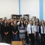 Elevii celor două colegii cugirene l-au omagiat astăzi pe poetul Nichita Stănescu