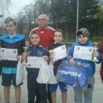 Lucian Codea, legitimat la Tenis Club Alba Cugir, a obținut locul I pe echipe la Cupa de Primăvară de la Oradea