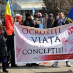 """Parohia Ortodoxă Nr. 6, în parteneriat cu Casa de Cultură Cugir, organizează sâmbătă, 26 martie 2016, """"Marșul pentru viață 2016"""""""