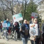 """Câteva sute de persoane au participat la """"Marșul pentru viață"""" desfășurat astăzi la Cugir"""