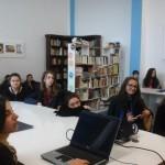 """Activității interdisciplinare organizate de Colegiul Național """"David Prodan"""" din Cugir cu prilejul """"Săptămânii muzicii și poeziei"""""""