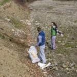 Amplă acţiune de ecologizare a grănicerilor din Cugir