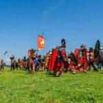 Luptătorii daci au reușit să țină piept trupelor romane care au asediat antica Cetate Singidava