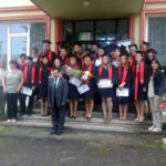 """Prima promoție a filialei din Cugir a școlii postliceale """"Speranța Med Farm"""" Targu Mureș, a primit diplomele de absolvire"""