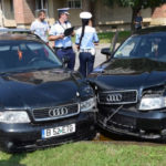 Șofer de 29 de ani din Cugir implicat într-un accident rutier la Alba Iulia