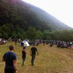 """Peste 100 motocicliști din țară și străinătate prezenți la festivalul """"Moto Rock"""" desfășurat la Cugir"""