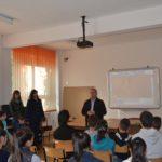 """Campania """"Săptămâna Prevenirii Criminalităţii"""", derulată de IPJ Alba, a ajuns astăzi la Cugir"""