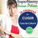 """""""Supernanny"""" Irina Petrea va oferi cugirenilor sfaturi despre cum să fii un părinte mai bun"""