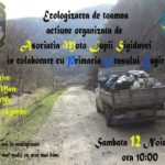 12 noiembrie 2016: Cetățeni din Cugir cărora le pasă de natură, invitați să participe la curățarea zonelor Râul Mare, Râul Mic, Poiana cu Goruni și Valea Grușeri