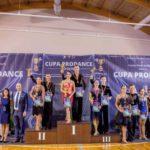 """22 de sportivi din Cugir s-au calificat în finalele Concursului Național de dans sportiv """"Cupa Pro Dance"""", desfășurat la Orăștie"""